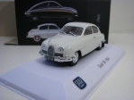 Saab 96 1964 White Saab Car Museum 1:43 Atlas Edition